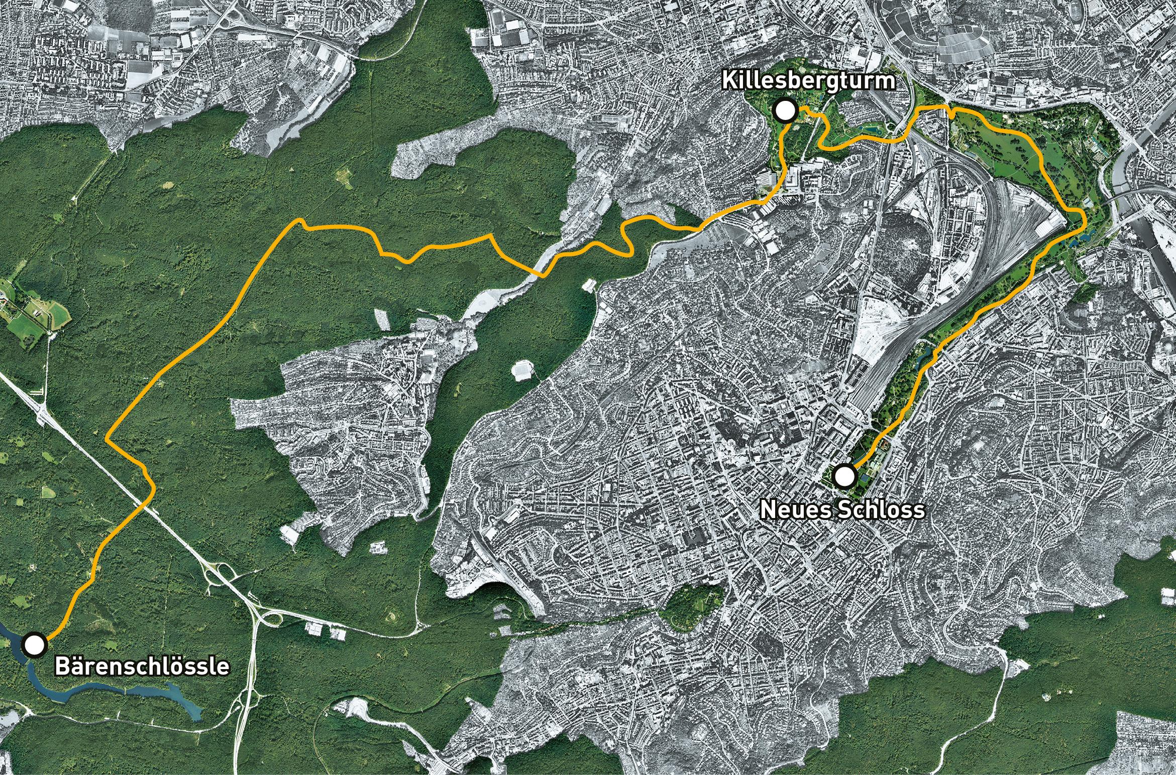 Von der Stadt in die Landschaft –  ein 18 Kilometer langer Stadtspaziergang durch die Natur …