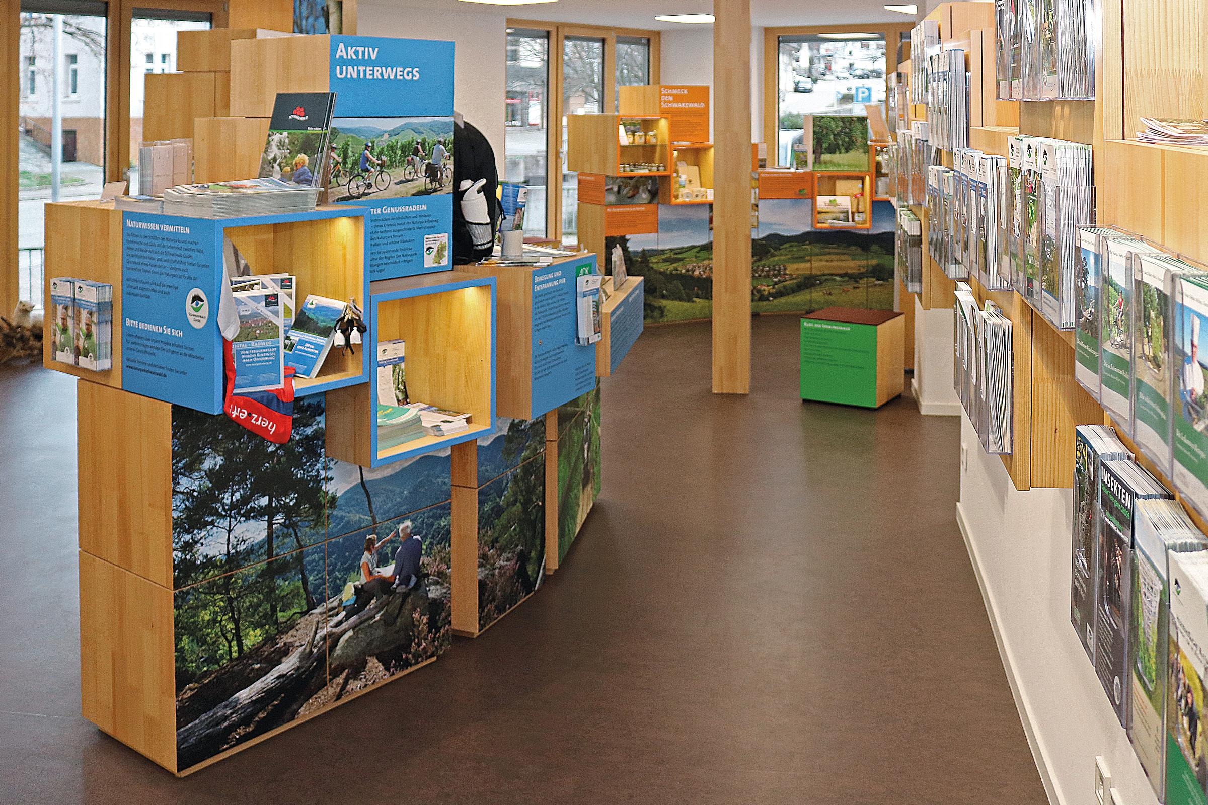 Naturpark-Info-Shop im Haus des Gastes, Hauptstraße 94, 77830 Bühlertal