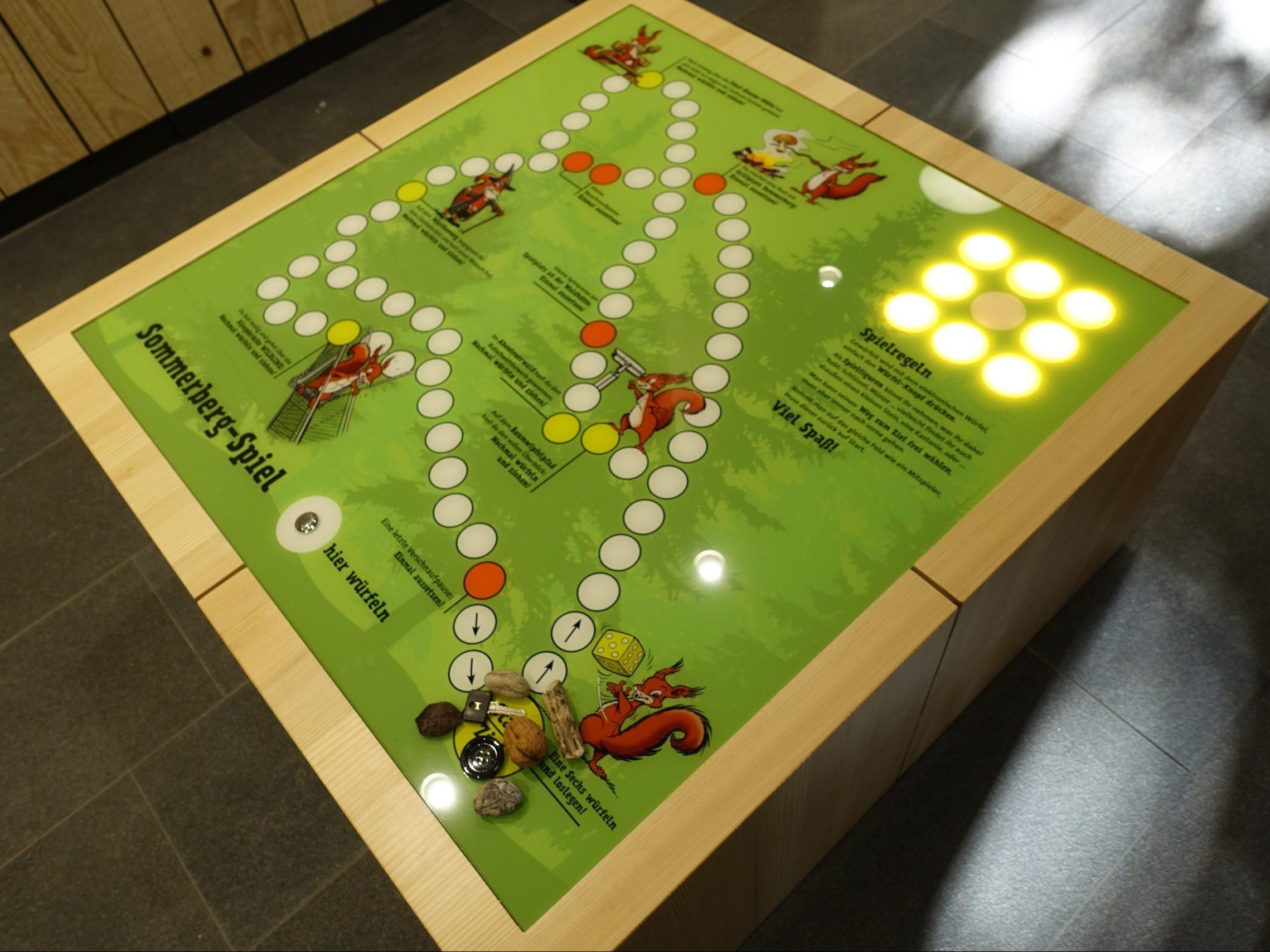 Sommerberg-Spiel, gewürfelt wird elektronisch …