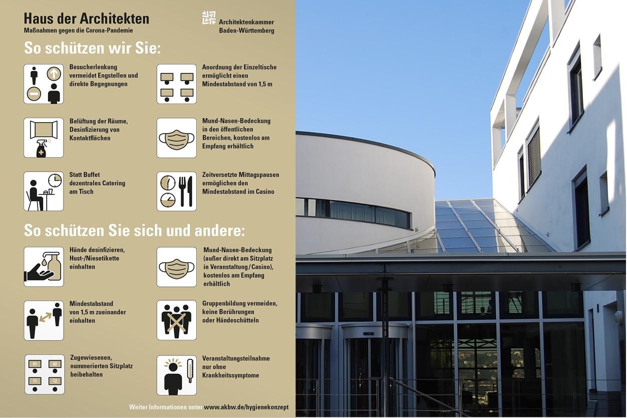Plakat Haus der Architekten …