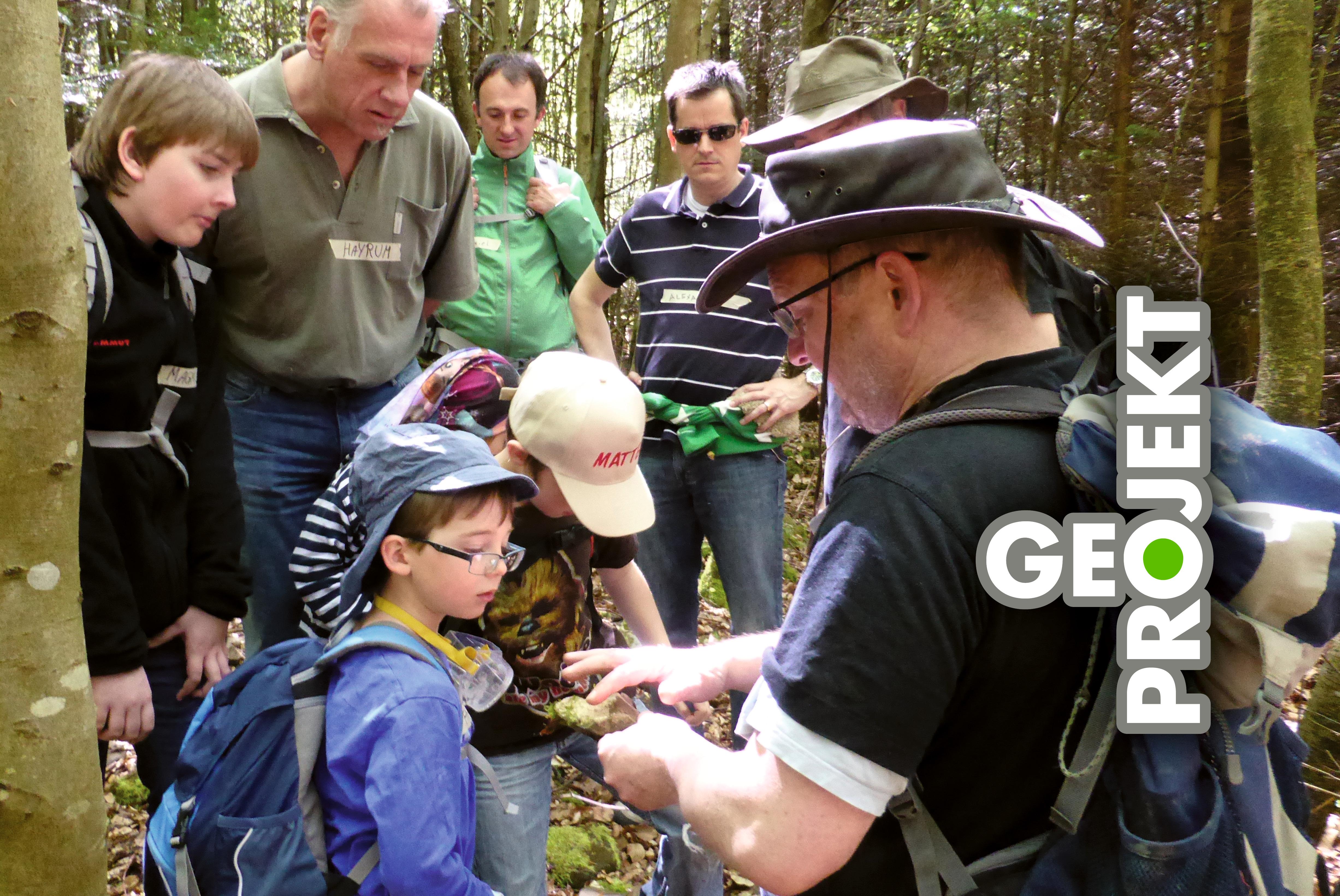 Naturpark-GeoProjekt in Zusammenarbeit mit Dr. Andreas Megerle