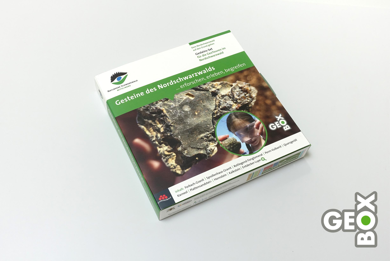 Neun wichtige Gesteine des Schwarzwalds …