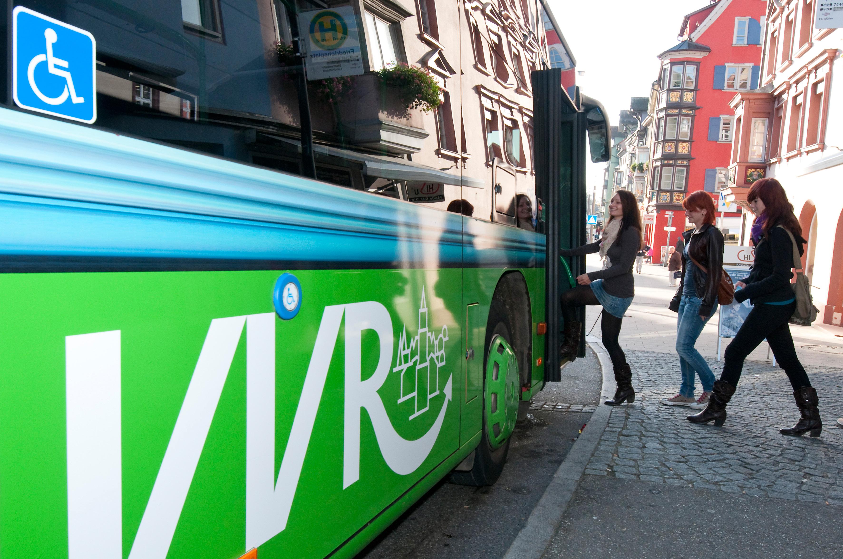 Linienbus-Komplettbeschriftung
